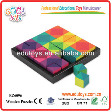 Education Game Wooden Cube,Educational Puzzle