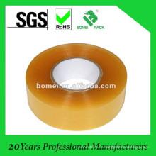 BOPP amarillento Ahesive Tape para uso de la máquina