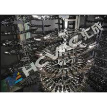 Máquina de metalização plástica descartável do vácuo da forquilha / colher de prata