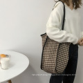 2021 Wholesale Ins Vintage Lady Women Boutique Tote Shopping Bags Shoulder Bag for Girls