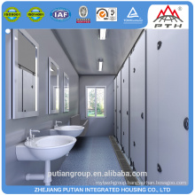 Affordable security PU sandwich panel roof prefab toilet