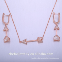 african set jewelry rose gold plated for women costume jewelry