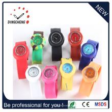 Silikon-Mode Damen Marken Armbanduhren (DC-100)