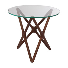 Fancy Style Round Coffee Table