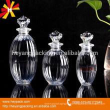 Botella de perfume grande del ANIMAL DOMÉSTICO del casquillo del diamante