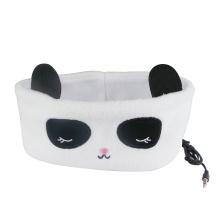 Panda Sleeping Headband Earphone Wired Headphone
