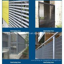 Hochwertiger Gitterzaun aus Stahl