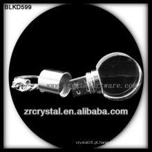disco de cristal USB flash de forma redonda BLKD599