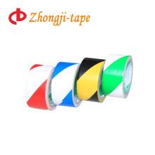 Two-tone stripe adhesive pvc custom warning tape