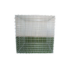 Wholesale 80x100mm PVC coated gabion cages welded gabion nets