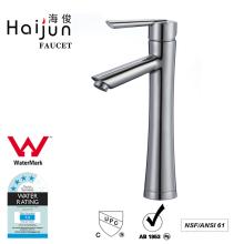 Haijun Wholesale Products Enfeitado Single Hole Brass Water Basin Faucet