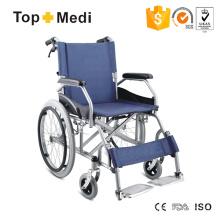 Topmedi Schreibtisch Armlehne Stahl Manueller Rollstuhl für Behinderte