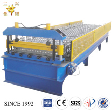DOUBLE LAYER CORRUGATED ROOF ROLL FORMING MACHINE/COLD METAL ROOF ROLL FORMING MACHINE