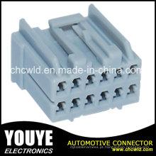 Conector fêmea do chicote de fios do fio 12p para Ford