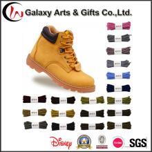 Corda de segurança Trainer Sneaker cadarços de tecido / corredor redondo botas atacadores