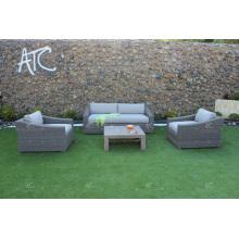 ALAND COLLECTION - El sofá de mimbre sintético más vendido del PE para los muebles al aire libre del jardín