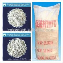 Aceleradores de vulcanización TMTD(TT) Cas Nº 137-26-8