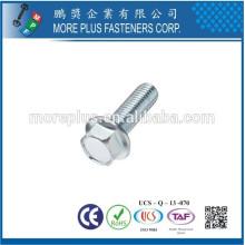 Fabricado en Taiwán Pernos de brida de acero inoxidable M12 de alta calidad