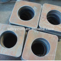 Fabrication de haute qualité MS plaque de coupe