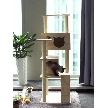 Mode Diy Pet Cat House Klimtoren Boom