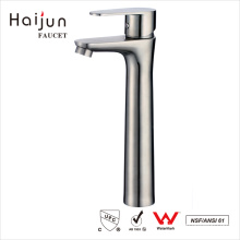 Haijun 2017 Products cUpc Washroom Stainless Steel Water Sink Faucet