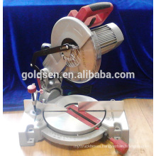 255mm Long Life Electric Power Aluminum Wood Cutting Cut off Table Circular Machine Tools Induction Compound Miter Saw