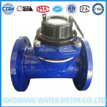Medidor de agua remoto de pulso Dn100mm Medidor de agua fría seco de Dail