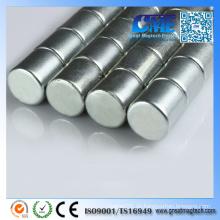 N35 NdFeB D10X10mm Seltener Erdzylinder Magnet Runde Magnete