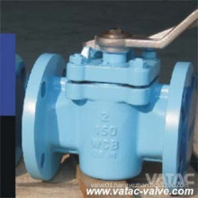 Cast Steel Wcb/Lcb RF Flanged Sleeved Plug Valves