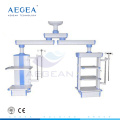 AG-45 brazo doble altura regulable hospital quirúrgico ot colgantes