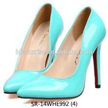 SR-14WHE992 (4) el alto talón de las señoras calza los zapatos del alto talón de las muchachas de la manera de los zapatos del alto talón de las mujeres