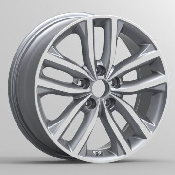Alunimiun Kia Custom Wheel 18x7.5 فضي
