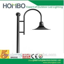 30w pole-top 220 voltios al aire libre llevado patio luces para jardín