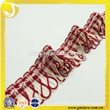 Red Tassel Trim Fringe Curtain Fringe Lace Upholstery Ribbon Trim