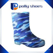 Chaussures de pluie en PVC imperméable à la mode 2016