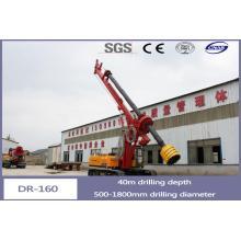 Máquina de perfuração giratória de preço de fábrica por motor diesel