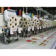 613/300 lantejoulas duplas com máquina de bordar trimmer quente à venda
