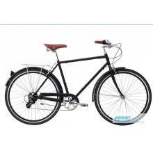 700c bicicleta retro de la ciudad de la bici de la ciudad del vintage