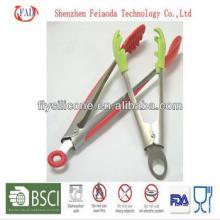 Pinzas de silicona de alta calidad de calidad resistente al calor Premiun