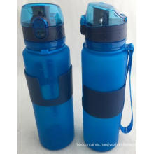 20 Oz Food Grade Silicone Folding Water Bottle
