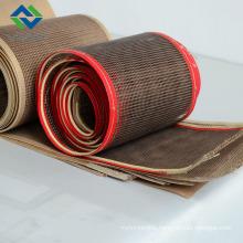 Weiwei 10*10 teflon mesh conveyor belt high temperature