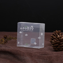 diagonal plastic PVC clear box for gift