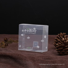 diagonale Kunststoff PVC-Box für Geschenk