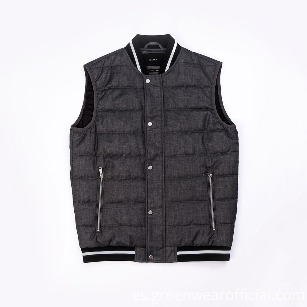 Mens Sleeveless Winter Work Vest