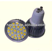 Super bright 4.6W led spotlight gu10 smd