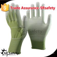 SRSAFETY 13gauge PU safety working gloves.