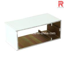 Aluminium / Aluminium pulverbeschichtete Profile für Vorhangfassade / Fenster