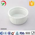 Factory direct wholesale round ceramic dish,relief dish
