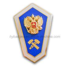 3D Zinc Alloy Badge Shield for Souvenir (GZHY-BADGE-020)