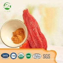 Certificación orgánica de ISO de alta calidad Extracto de la baya de Goji de la baya de Goji en polvo